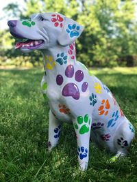 Dogs of Danville Sculpture - Spot