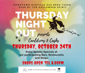Thursday Night Out October 24 Flyer