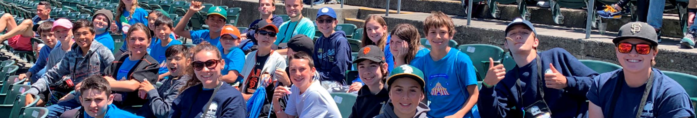 DesTEENation teens at Baseball Game