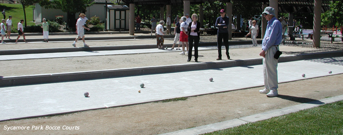 Sycamore Valley Park Bocce Courts