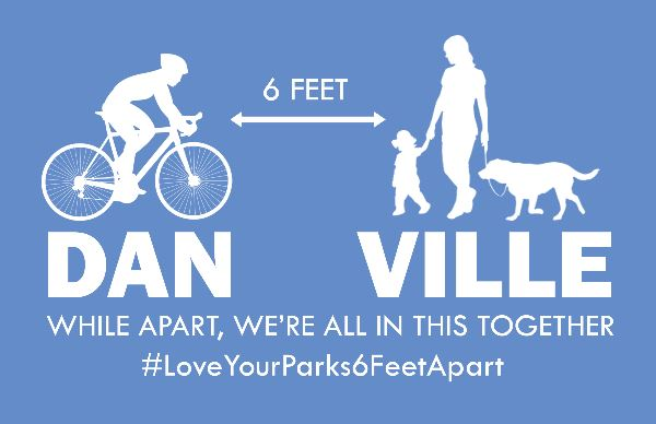 DAN VILLE While apart, we're all in the together. #LoveYourParks6FeetApart