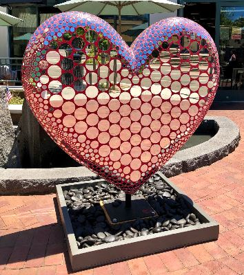 Heart created by Erin Colcord