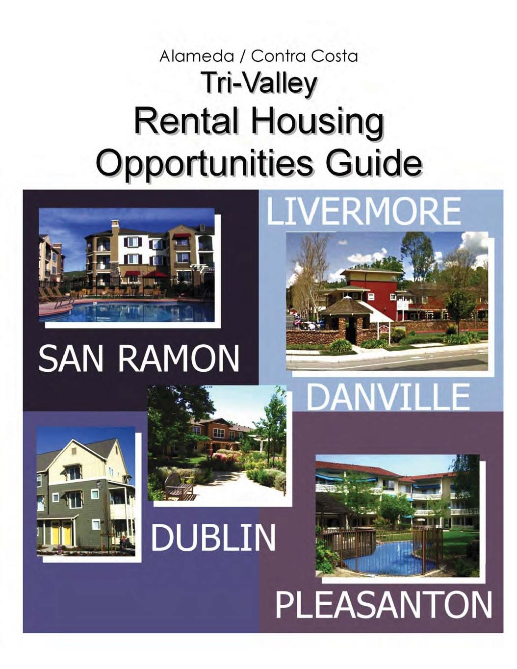 Tri-Valley Rental Housing Opportunities Cover 2013