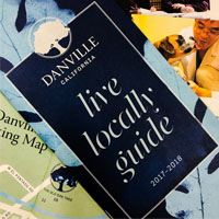The cover of the Danville Live Locally Guide