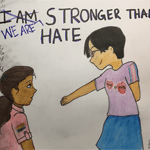 Stronger Than Hate by Nora Hui