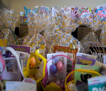Selection of Easter Baskets