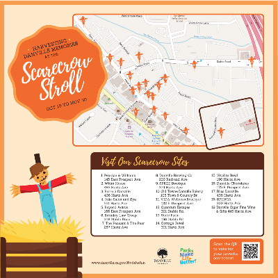 Scarecrow Stroll Map Opens in new window